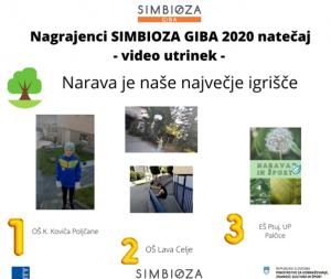 Nagrajenci Simbioza giba 2020 - Slika 1