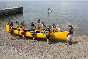 3 posadka rumenega kanuja